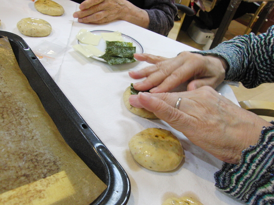パンレク ~ 磯辺焼きパン ~_e0222340_1522397.jpg