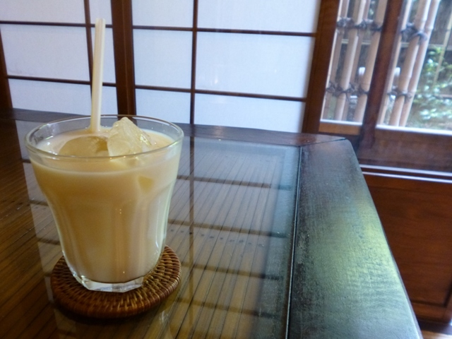 豆漿(豆乳)たまにあり〼。_e0230141_09452431.jpg