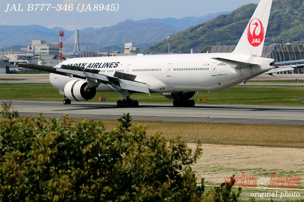'17年 伊丹空港(RJOO)レポート ・・・ JAL/JA8945_f0352866_2231622.jpg