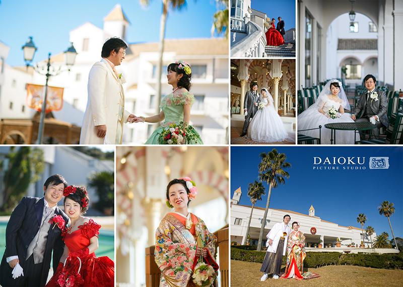 結婚式の前撮り 志摩スペイン村にて_c0224169_14541511.jpg