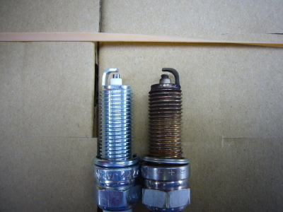 ダイハツタント エンジン不調修理(スパークプラグ)_c0267693_14310603.jpg