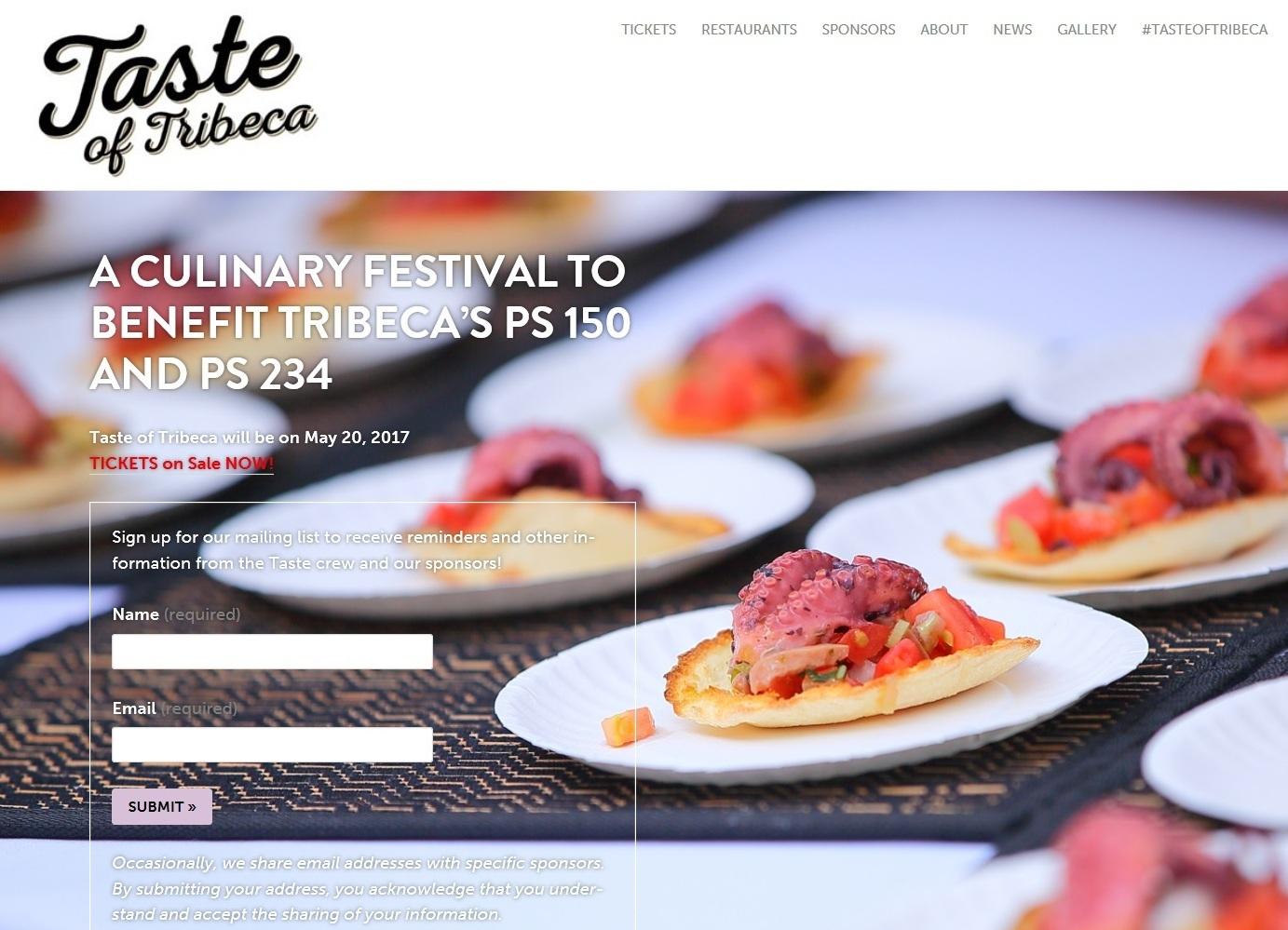 Taste of Tribeca 2017 ホームページ 写真掲載について_a0274805_13113486.jpg