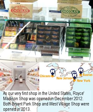 NYでもお馴染み?! 北海道のチョコレート・メーカー「ロイズ」 (ROYCE\') _b0007805_0451086.jpg