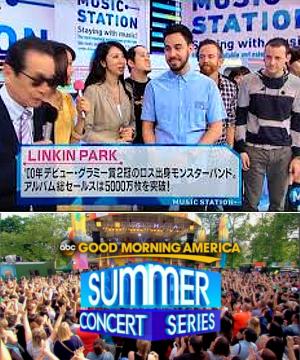 神バンド、リンキン・パークがNYの地下鉄駅構内でライブ!!_b0007805_184253100.jpg