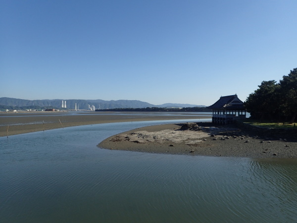 名勝和歌の浦 和歌の浦干潟と大海原_c0367107_17361771.jpg