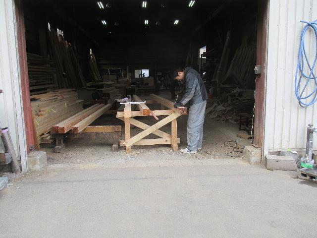 木造ガレージを造る_f0105112_4225988.jpg