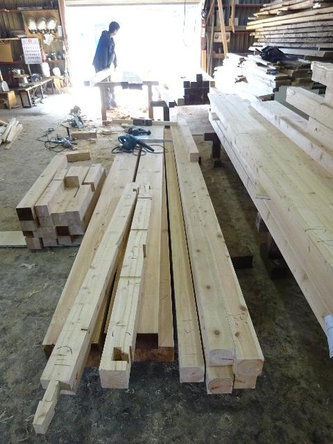 木造ガレージを造る_f0105112_4241048.jpg