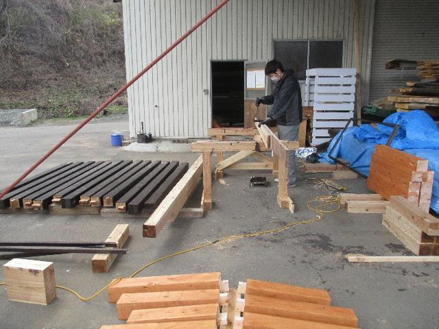 木造ガレージを造る_f0105112_4352328.jpg