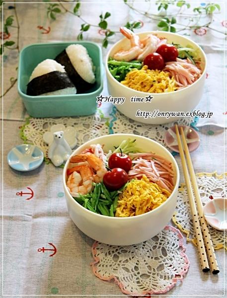 冷やし中華弁当はじめました♪とバラ・ヘンリーフォンダ♪_f0348032_18061104.jpg