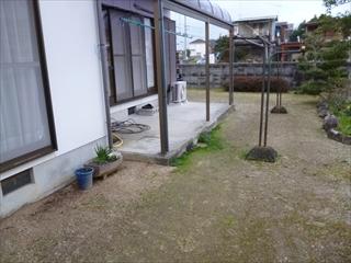 松山市 N様邸 外構工事_a0167735_14534292.jpg