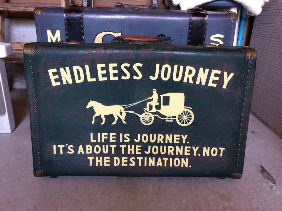 ◆ Vintage Luggage Sign Painting ◆_c0078202_17412237.jpg