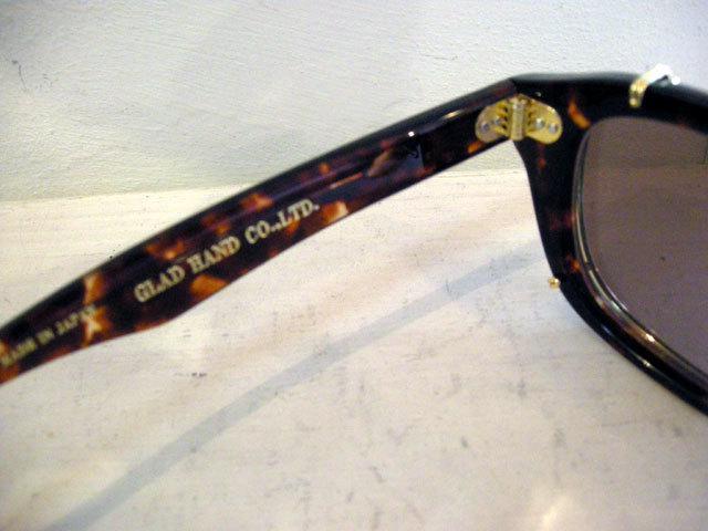"GLAD HAND×丹羽雅彦 J-IMMY & CLIP ON - GLASSES \""SET\"" GOLD_c0140709_14333481.jpg"