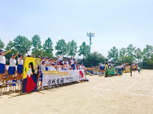 母校・見中体育祭_b0199244_12474129.jpg