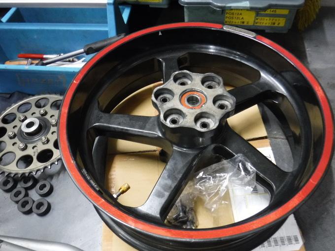 GPZ900Rマーキュリー号の仕様変更・・・その2_a0163159_20541805.jpg