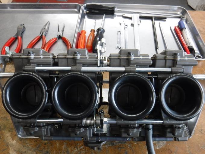 GPZ900Rマーキュリー号の仕様変更・・・その2_a0163159_21230140.jpg
