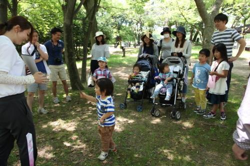 家族登園『ウォークラリー』_b0277979_13212557.jpg