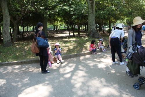 家族登園『ウォークラリー』_b0277979_13231157.jpg