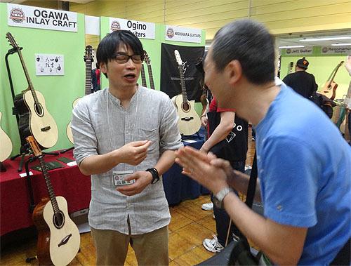 今年も楽しみました!『TOKYOハンドクラフトギターフェス 2017』_c0137404_23475814.jpg