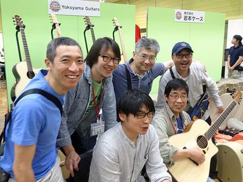 今年も楽しみました!『TOKYOハンドクラフトギターフェス 2017』_c0137404_23524120.jpg
