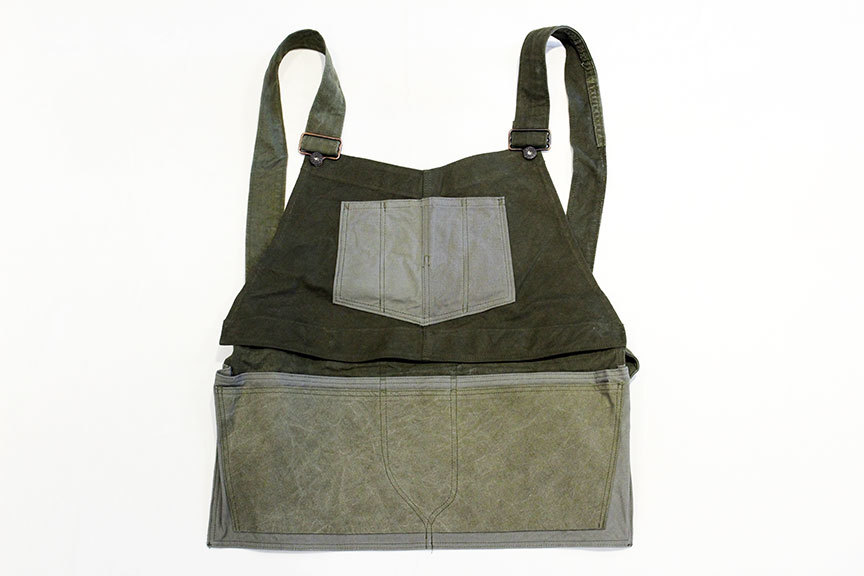 "ink (インク) US Tent Overall With Apron "" DIVERSITY \"" tent_b0122806_12512445.jpg"