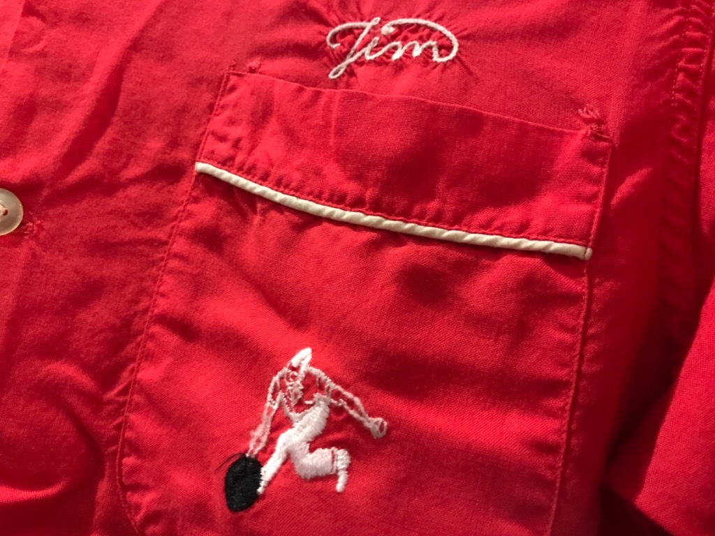 神戸店5/24(水)ヴィンテージウェア&スニーカー入荷!#4  Vintage Bowler Shirt!!!_c0078587_16100988.jpg