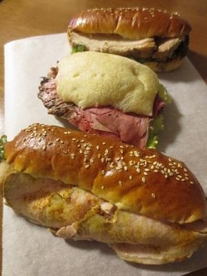ブーランジュリーパリの空の下 豪華サンドイッチ3種!!_f0231189_21393067.jpg