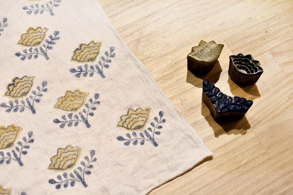 6/2〜4【FABRIC OF INDIA】サモサを食べよう!ブロックプリントをしよう!_b0184796_19184639.jpg