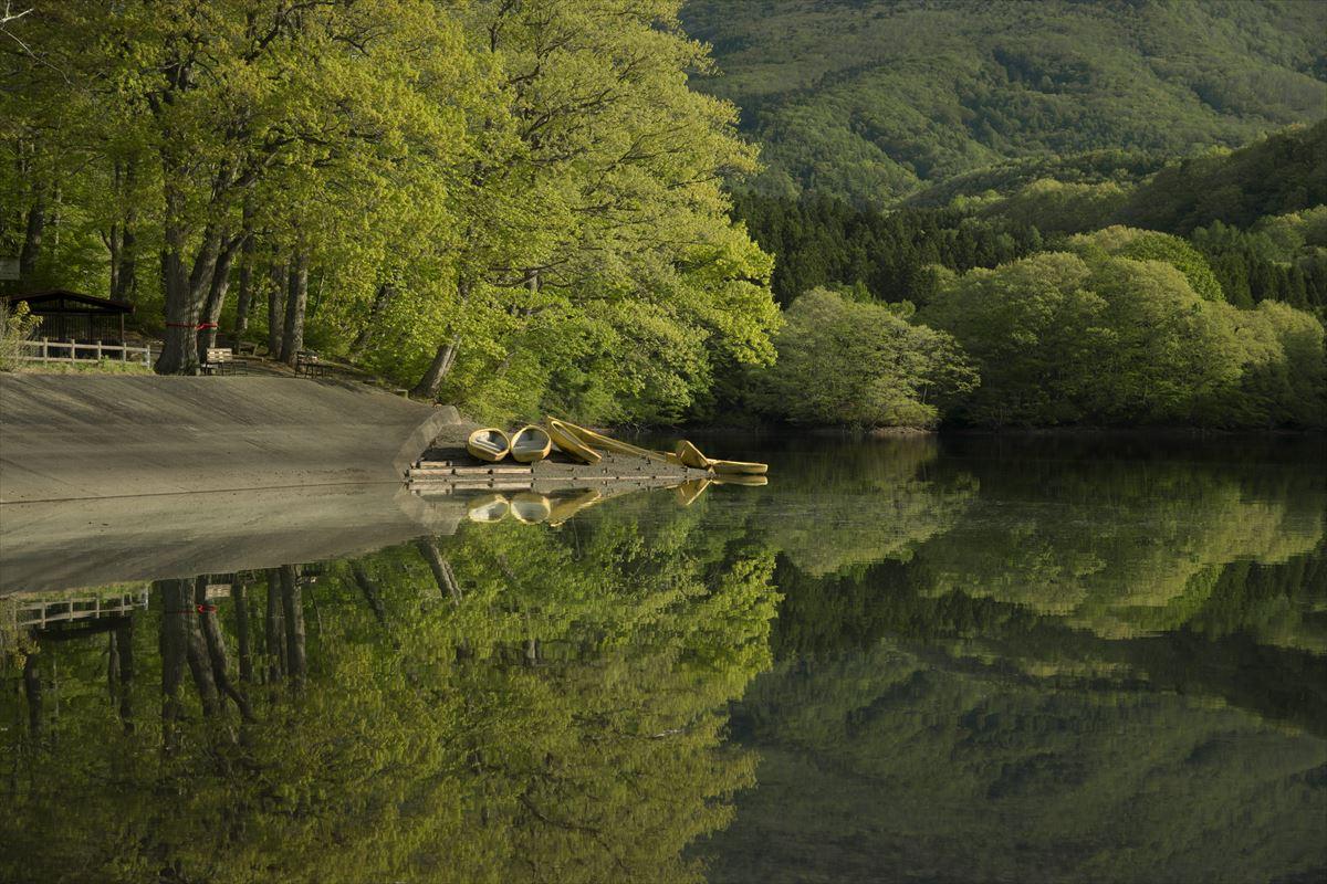 早春の湖_b0074098_7205291.jpg