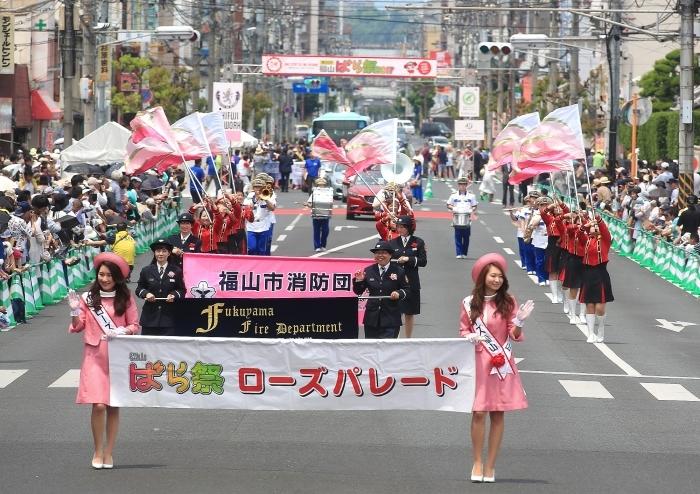 """第50回 福山 """"ばら祭 2017\"""" ー感謝とともに、未来への1歩をー_a0140608_06503132.jpg"""