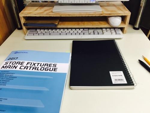パソコンのキーボードとマウスの収納~簡単DIY~_f0234628_17450033.jpg