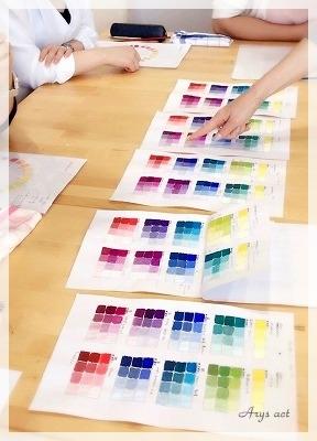 ベージュに色をあわせるとき_c0243369_14283866.jpg