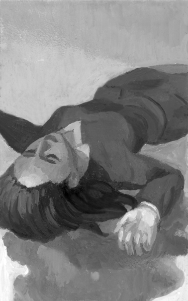 ジャーロ  連載第3回 鳥飼否宇著「隠蔽(いんぺい)人類の絶滅と混乱」扉絵_b0194880_02472543.jpg