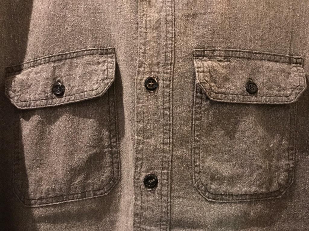 神戸店5/24(水)ヴィンテージウェア&スニーカー入荷!#6  Work Item Part2! Black&Blue Chambray Shirt!!!_c0078587_15464479.jpg