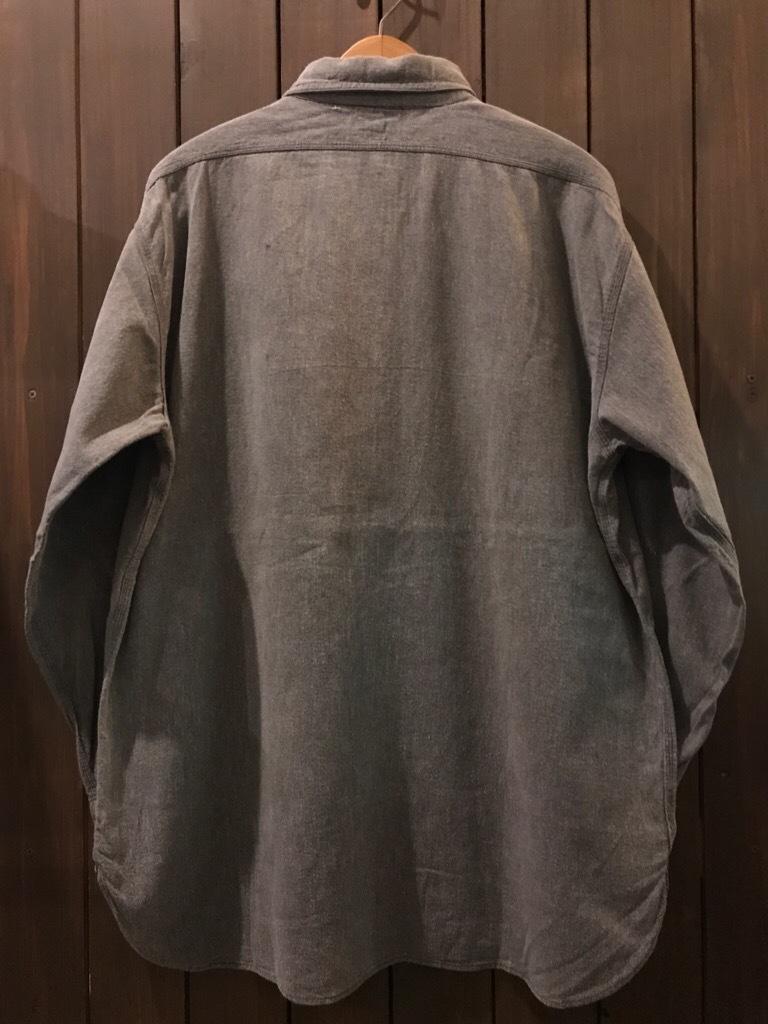 神戸店5/24(水)ヴィンテージウェア&スニーカー入荷!#6  Work Item Part2! Black&Blue Chambray Shirt!!!_c0078587_15464586.jpg