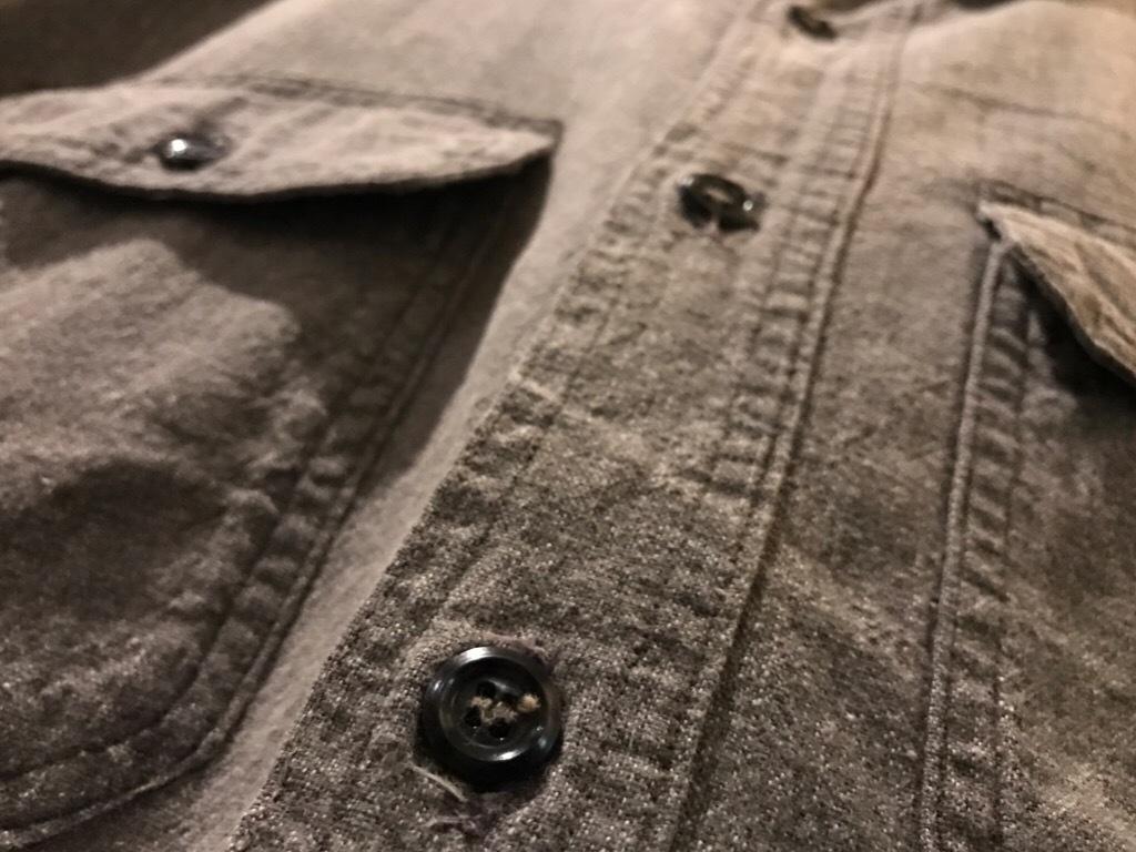神戸店5/24(水)ヴィンテージウェア&スニーカー入荷!#6  Work Item Part2! Black&Blue Chambray Shirt!!!_c0078587_15464613.jpg