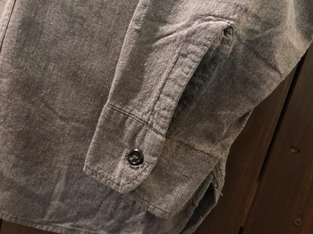 神戸店5/24(水)ヴィンテージウェア&スニーカー入荷!#6  Work Item Part2! Black&Blue Chambray Shirt!!!_c0078587_15544944.jpg