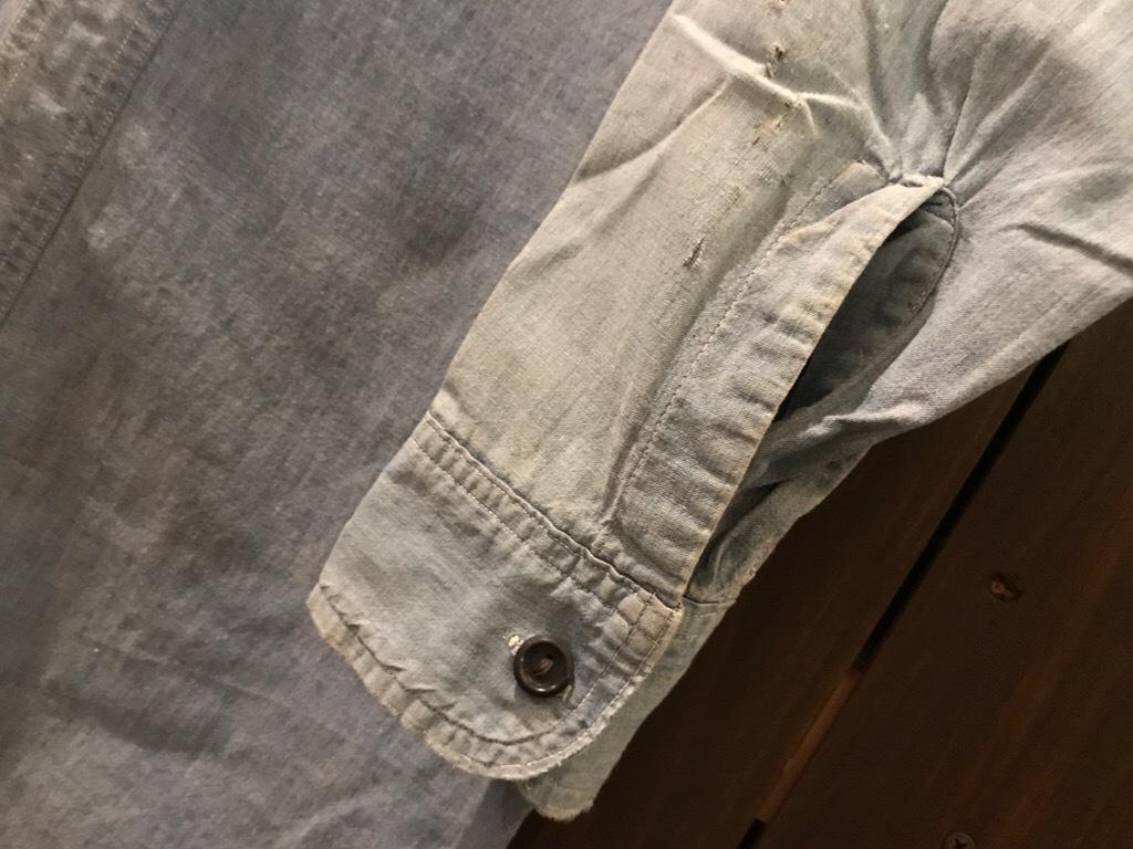 神戸店5/24(水)ヴィンテージウェア&スニーカー入荷!#6  Work Item Part2! Black&Blue Chambray Shirt!!!_c0078587_15551092.jpg