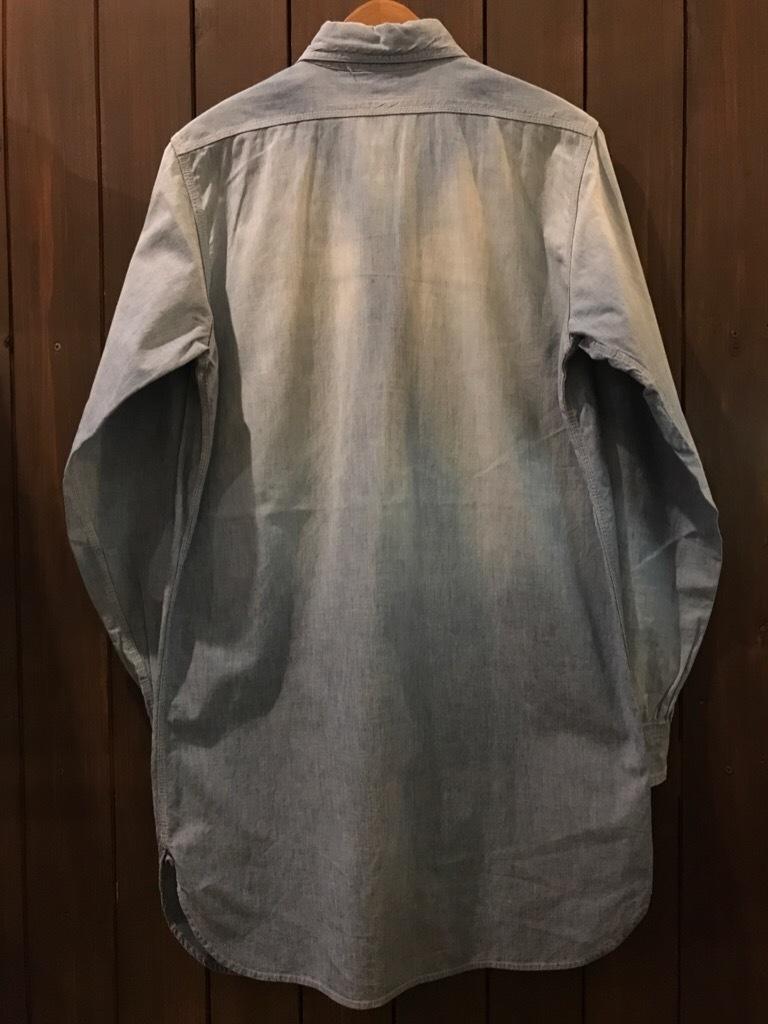 神戸店5/24(水)ヴィンテージウェア&スニーカー入荷!#6  Work Item Part2! Black&Blue Chambray Shirt!!!_c0078587_15551133.jpg