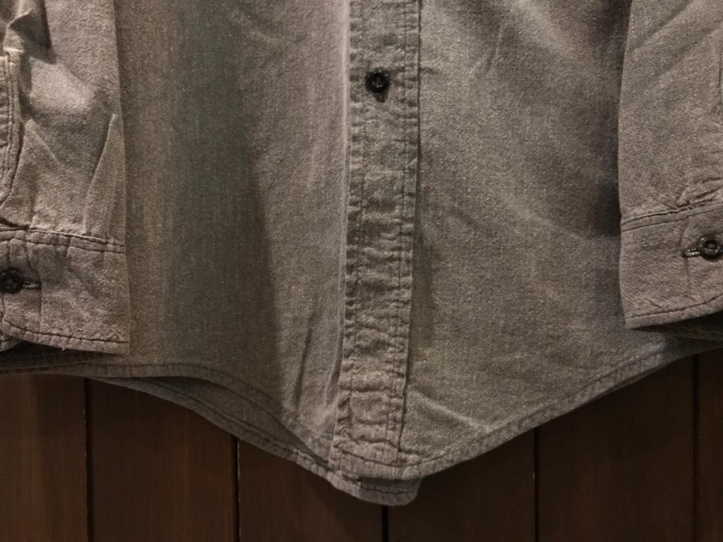 神戸店5/24(水)ヴィンテージウェア&スニーカー入荷!#6  Work Item Part2! Black&Blue Chambray Shirt!!!_c0078587_15560306.jpg