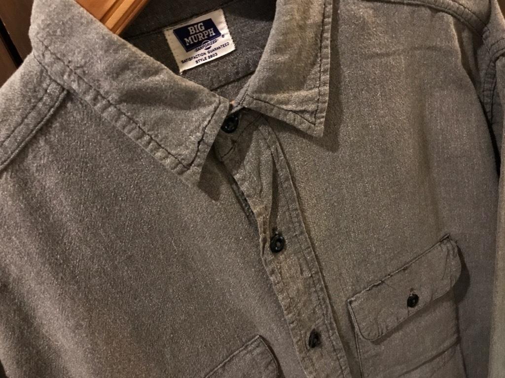 神戸店5/24(水)ヴィンテージウェア&スニーカー入荷!#6  Work Item Part2! Black&Blue Chambray Shirt!!!_c0078587_15560467.jpg