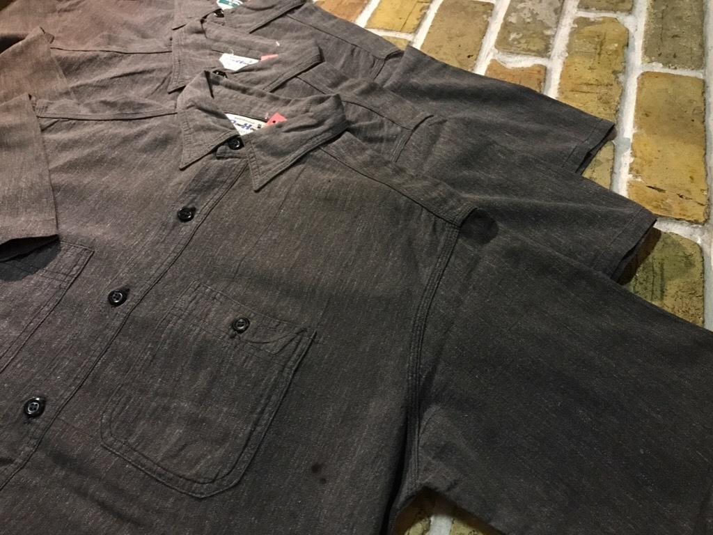 神戸店5/24(水)ヴィンテージウェア&スニーカー入荷!#6  Work Item Part2! Black&Blue Chambray Shirt!!!_c0078587_15572620.jpg