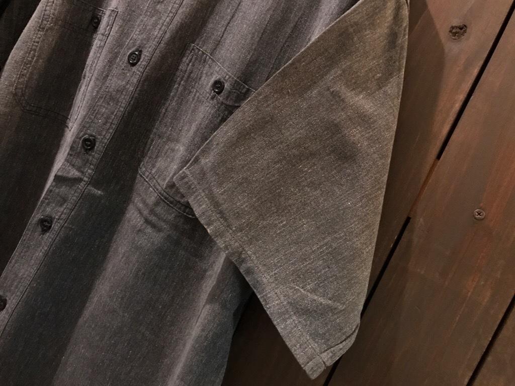 神戸店5/24(水)ヴィンテージウェア&スニーカー入荷!#6  Work Item Part2! Black&Blue Chambray Shirt!!!_c0078587_15572762.jpg