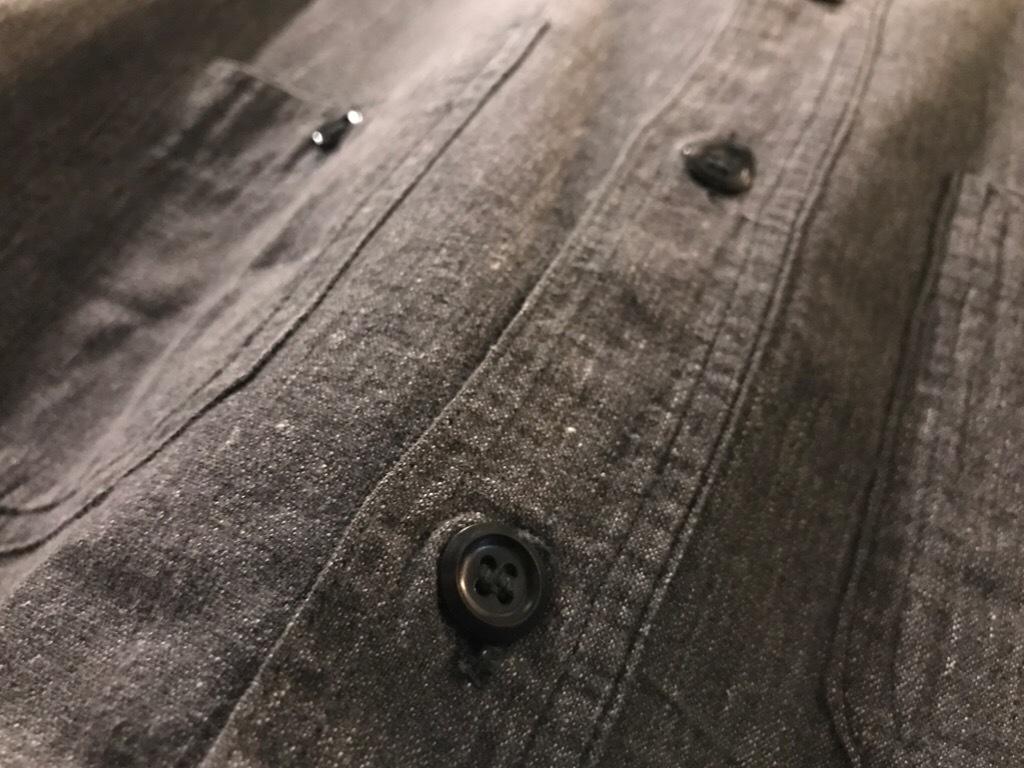 神戸店5/24(水)ヴィンテージウェア&スニーカー入荷!#6  Work Item Part2! Black&Blue Chambray Shirt!!!_c0078587_15572789.jpg