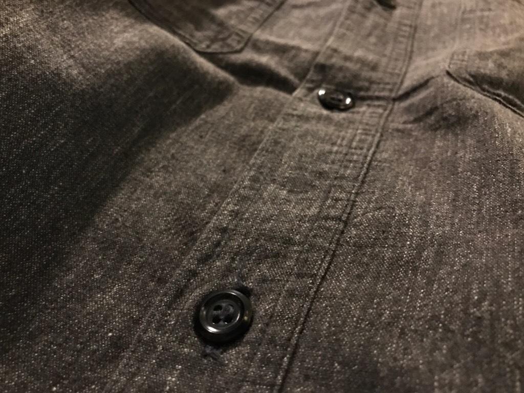 神戸店5/24(水)ヴィンテージウェア&スニーカー入荷!#6  Work Item Part2! Black&Blue Chambray Shirt!!!_c0078587_15583224.jpg