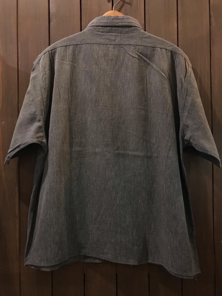 神戸店5/24(水)ヴィンテージウェア&スニーカー入荷!#6  Work Item Part2! Black&Blue Chambray Shirt!!!_c0078587_15583248.jpg