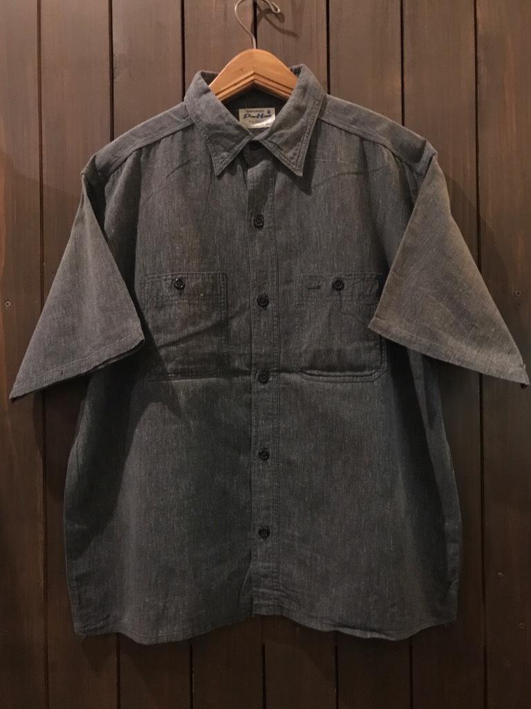 神戸店5/24(水)ヴィンテージウェア&スニーカー入荷!#6  Work Item Part2! Black&Blue Chambray Shirt!!!_c0078587_15583249.jpg