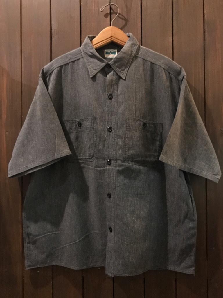 神戸店5/24(水)ヴィンテージウェア&スニーカー入荷!#6  Work Item Part2! Black&Blue Chambray Shirt!!!_c0078587_15590565.jpg