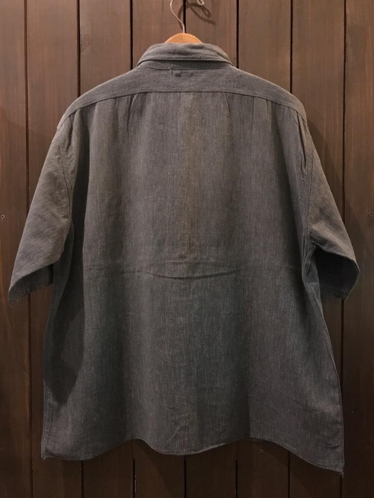 神戸店5/24(水)ヴィンテージウェア&スニーカー入荷!#6  Work Item Part2! Black&Blue Chambray Shirt!!!_c0078587_15590577.jpg