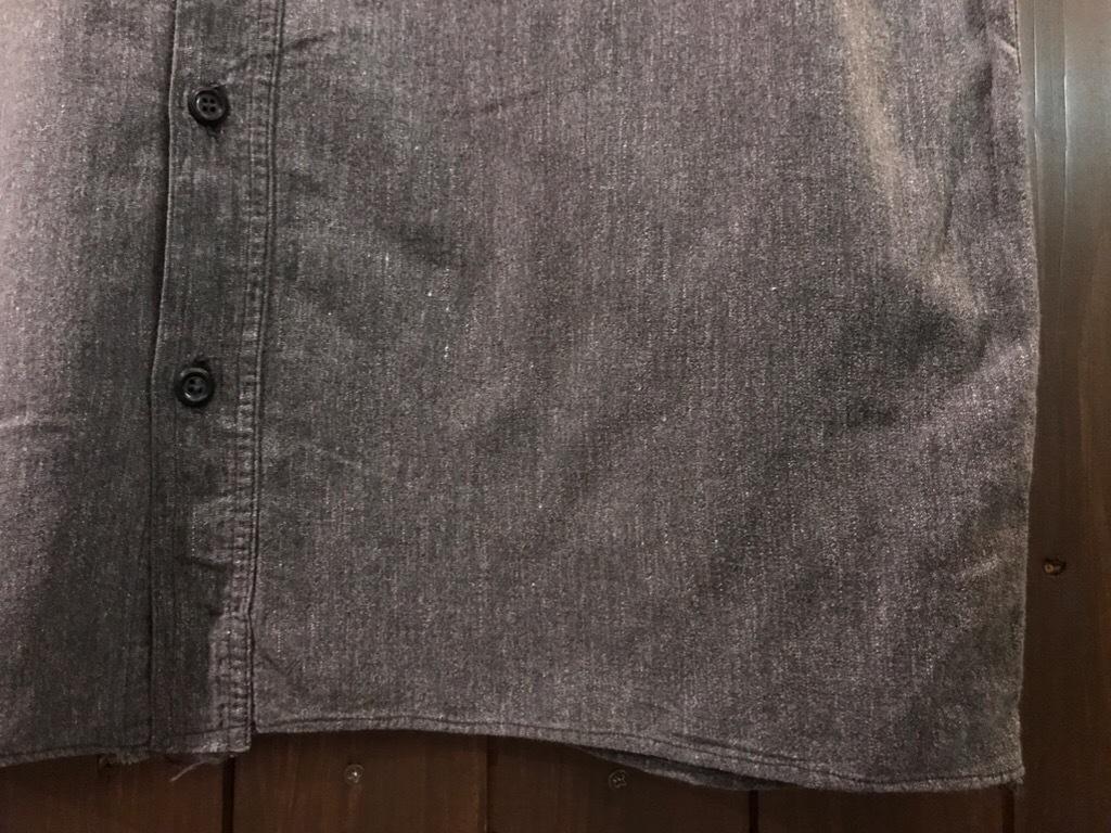 神戸店5/24(水)ヴィンテージウェア&スニーカー入荷!#6  Work Item Part2! Black&Blue Chambray Shirt!!!_c0078587_15590617.jpg
