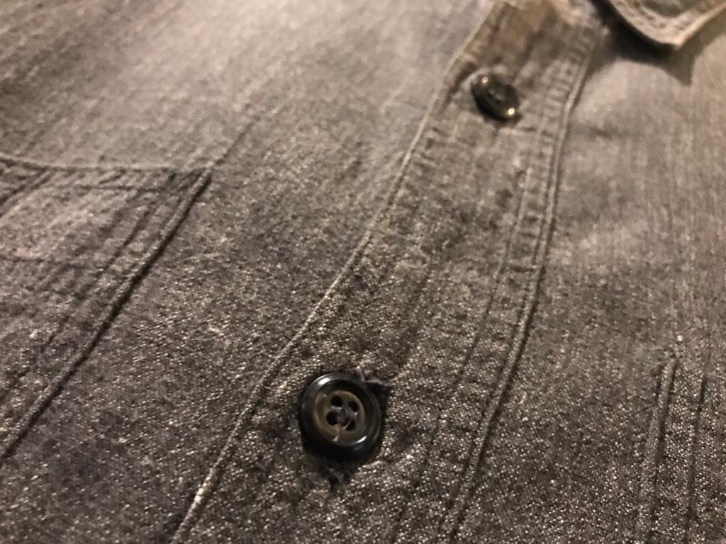 神戸店5/24(水)ヴィンテージウェア&スニーカー入荷!#6  Work Item Part2! Black&Blue Chambray Shirt!!!_c0078587_15590655.jpg